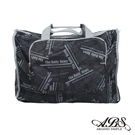 ABS愛貝斯 日本防水摺疊旅行袋 可加掛上拉桿(黑色快報)66-001D6