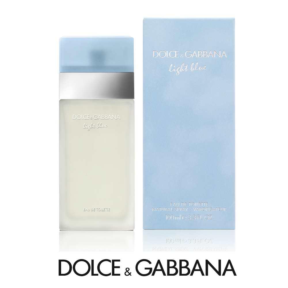 Dolce&Gabbana 淺藍女性淡香水100ml