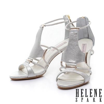 HELENE-SPARK-名媛氣質羊皮性感高跟涼鞋