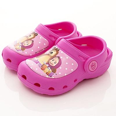 瑪莎與熊童鞋 護趾超輕量涼鞋款 SE3908桃(中小童段)