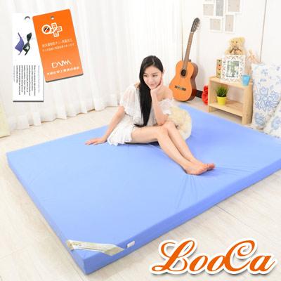 LooCa 抗菌防蹣防水11cm彈力記憶床墊 雙人