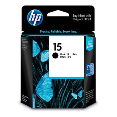 HP C6615DA #15 原廠黑色墨水匣