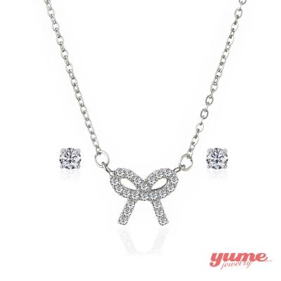 YUME 幸福小物套組(項鍊+耳環)