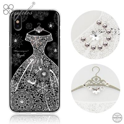 apbs iPhoneX 施華洛世奇彩鑽手機殼-禮服奢華版