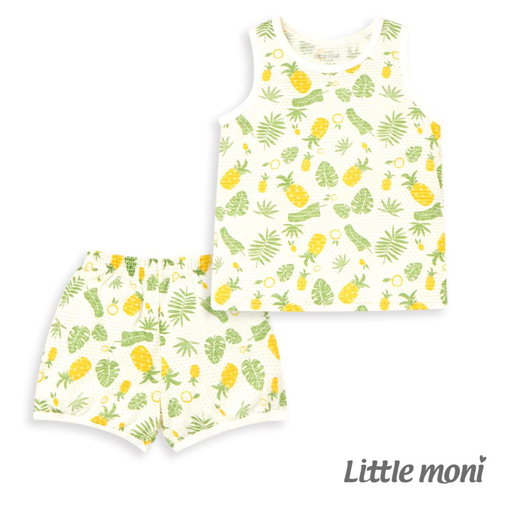 Little moni 家居系列背心套裝(兩件組)(3色可選)