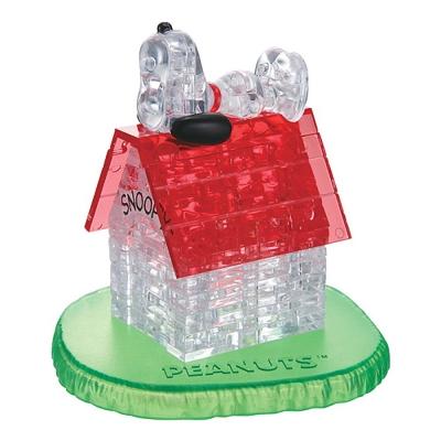 史努比的狗屋3D水晶拼圖-8cm系列-50片