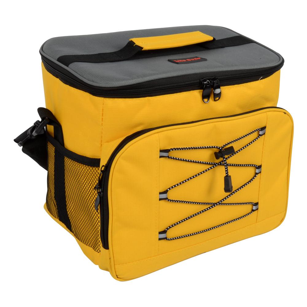 LIFECODE 歐風保冰袋 (黃色) 保溫袋 保冷袋 便當袋
