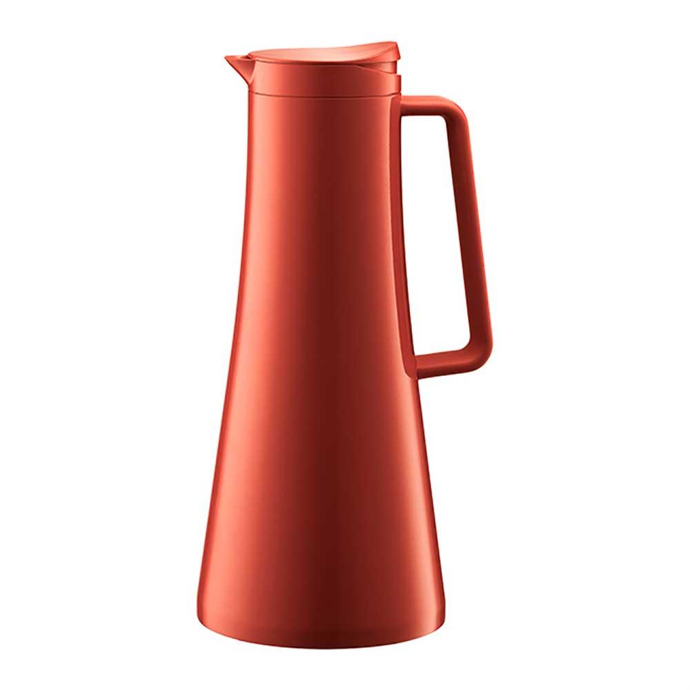 丹麥BODUM BISTRO哥本哈根保溫壺1.1L紅色