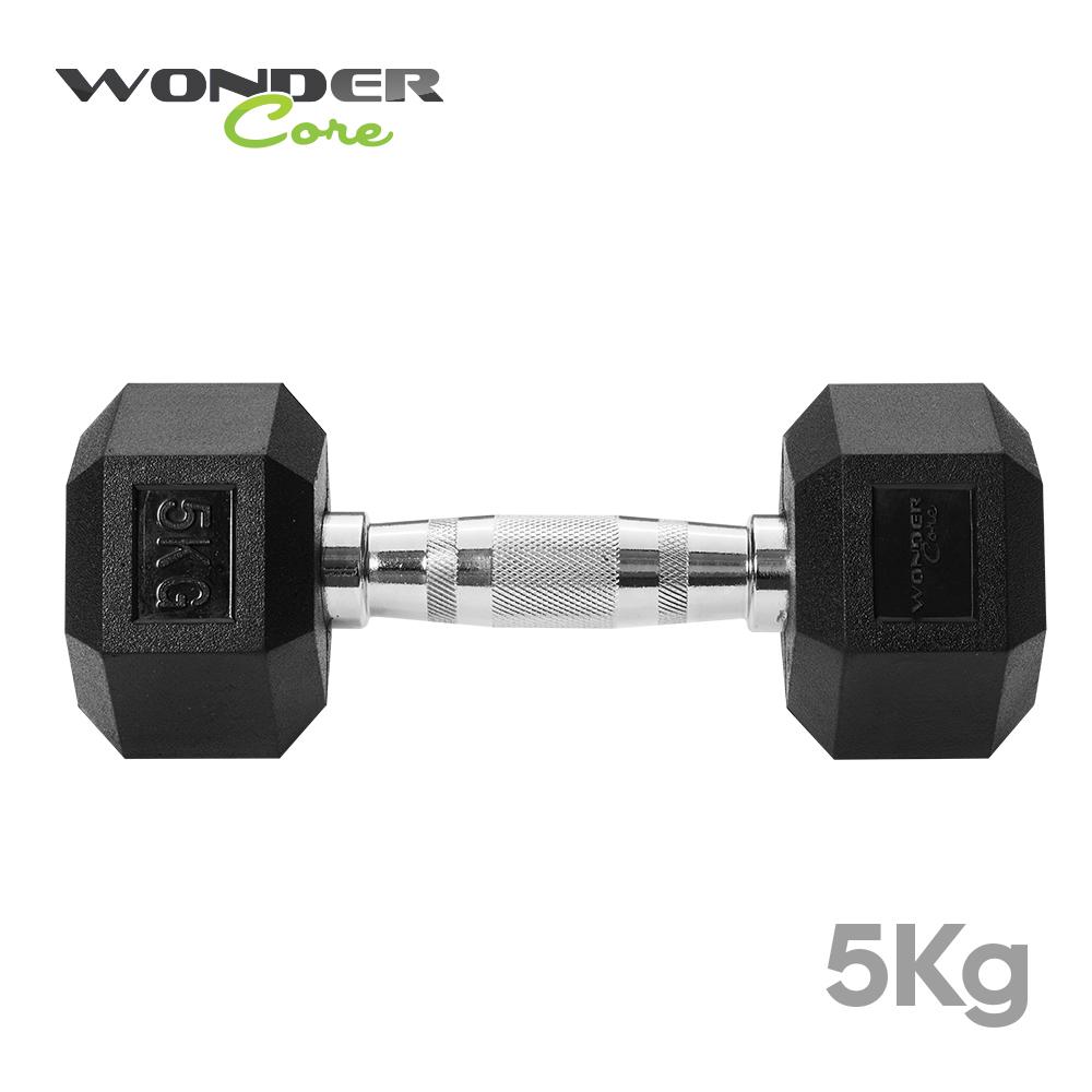Wonder Core 六角健身啞鈴 (5kg)