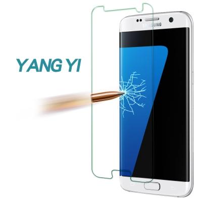 YANG YI 揚邑 Samsung S7 edge 防爆防刮防眩 9H鋼化玻璃保護貼膜