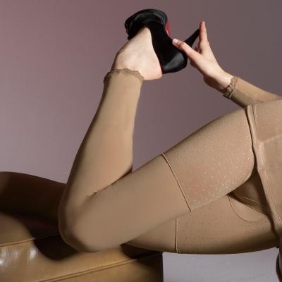 【曼黛瑪璉】美體輕塑衣  長管輕塑內搭褲(咖啡膚)