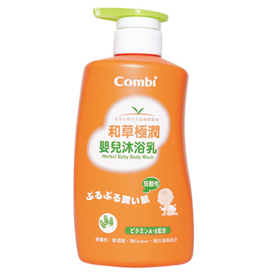 Combi-和草極潤嬰兒沐浴乳