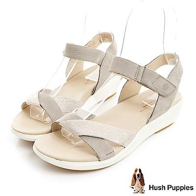 Hush Puppies LYRICALE 機能健走涼鞋-淺灰色