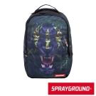 SPRAYGROUND DLX 系列 Tribal Leopard 部落黑豹潮流筆電後背包
