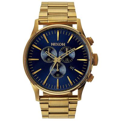 NIXON  藍調搖滾潮流運動腕錶-A3861922/42mm