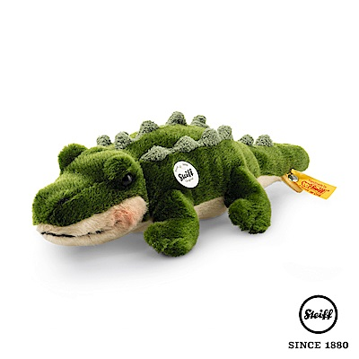 STEIFF德國金耳釦泰迪熊 - 鱷魚 Rocko Crocodile (動物王國)