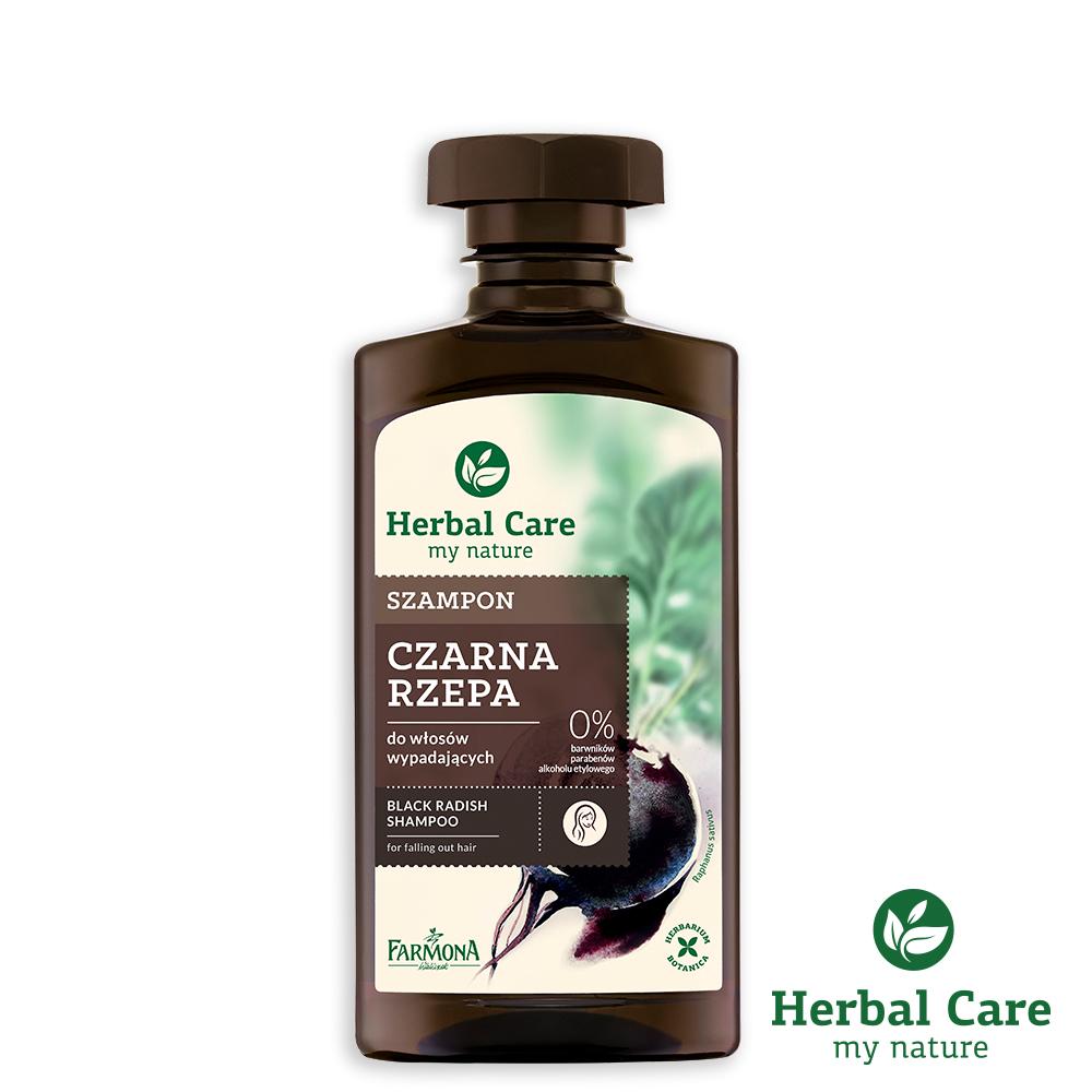 波蘭Herbal Care黑蘿蔔健髮植萃調理洗髮露(易落髮髮質)330ml