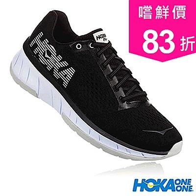 HOKA ONE ONE 女 CAVU路跑鞋 黑/白