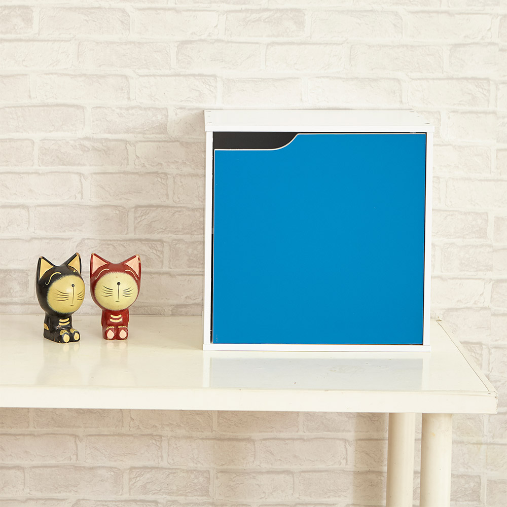 IKLOO宜酷屋_現代風單門收納櫃/置物櫃(單個) 41x30x40.5cm