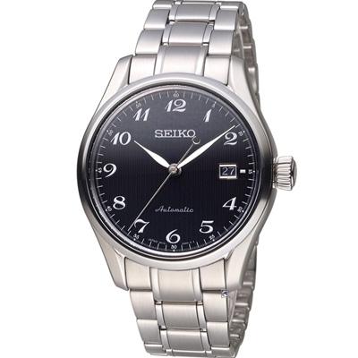 SEIKO 精工 PRESAGE 6R15機械錶(SPB037J1)黑/40mm