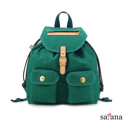 satana - 小休閒束口後背包 - 常春藤