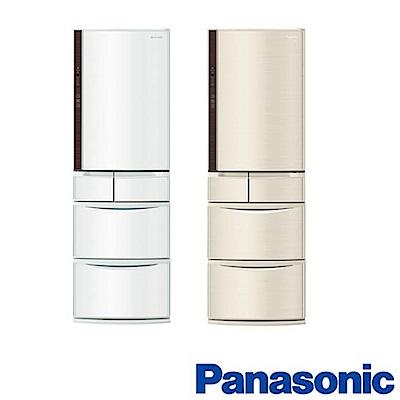 Panasonic 國際牌 411L日製五門 變頻電冰箱 NR-E412VT