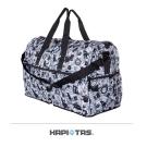 【HAPI+TAS】新版愛麗絲折疊旅行袋(大)-灰色