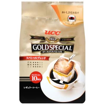 UCC GOLD濾式咖啡-特級(8gx10入)