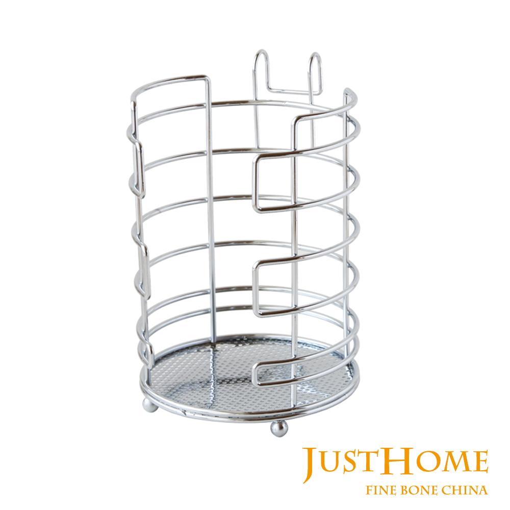 Just Home#304不鏽鋼圓形飯碗收納架(台灣製)