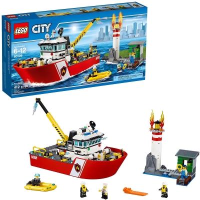 LEGO樂高 城市系列 60109 消防船