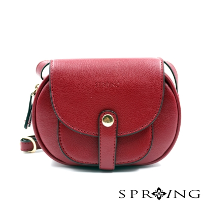 SPRING-斜背包-法式軟糖小圓包