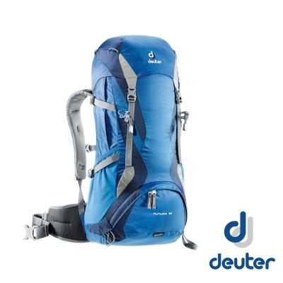 【德國 Deuter】 Futura 32L 網架透氣健行登山背包_藍/深藍