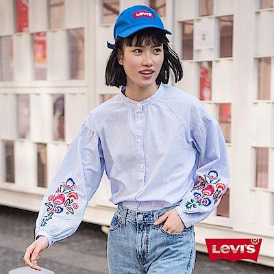 襯衫 女裝 復古花紋 刺繡 - Levis