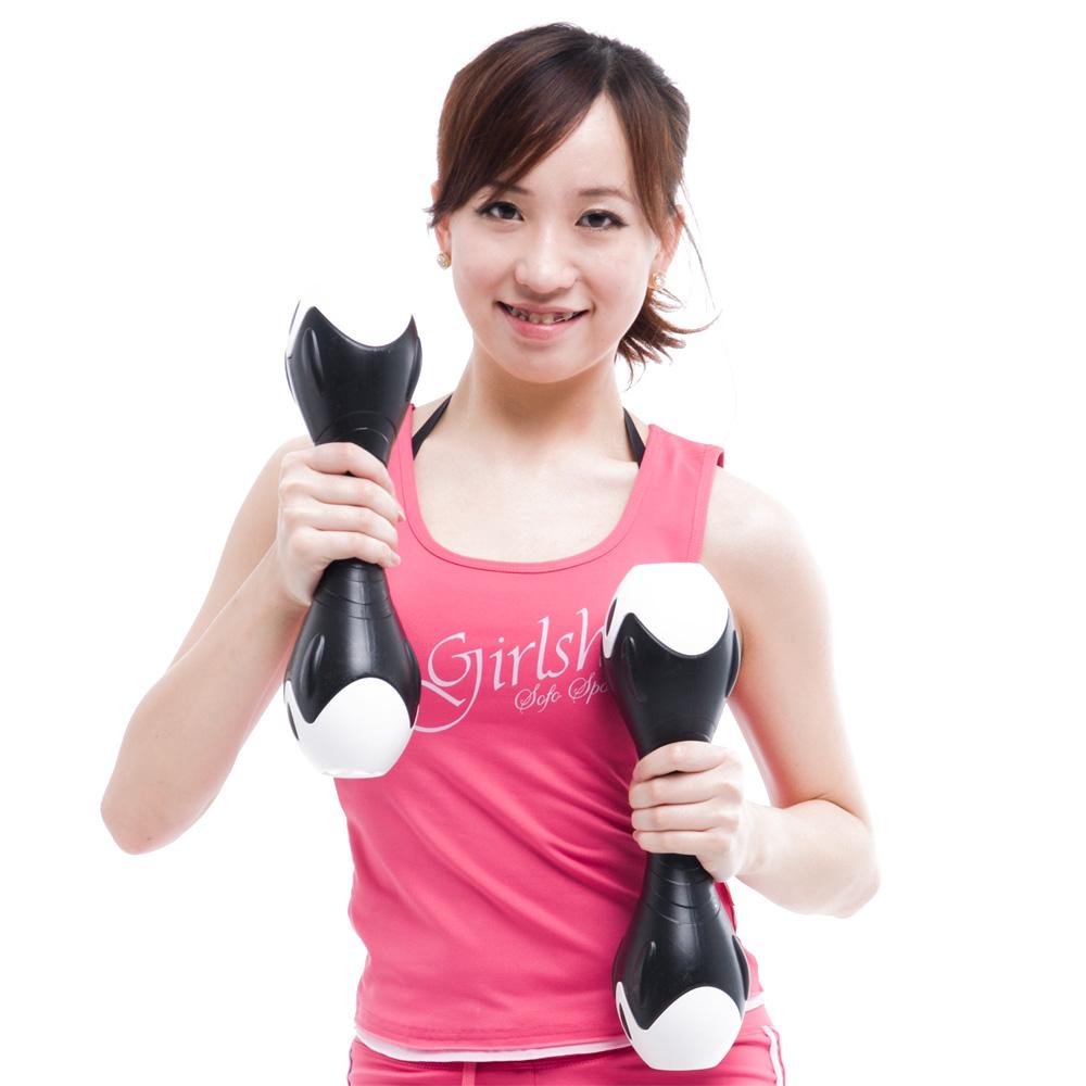 Fun Sport  創意訓練啞鈴6kg黑色(一手3公斤)