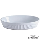 MASON CLASSIC系列陶瓷橢圓烤盤28CM(白)