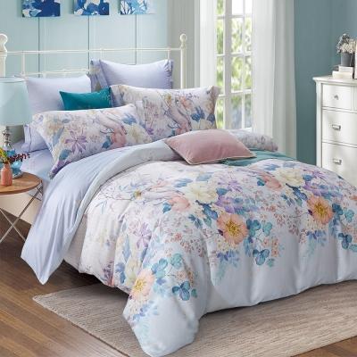 Lily Royal 天絲 特大-四件式兩用被床包組 歌莉雅
