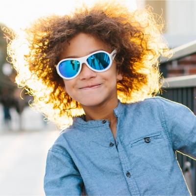 【美國BABIATORS】兒童太陽眼鏡-白色(7-14y)