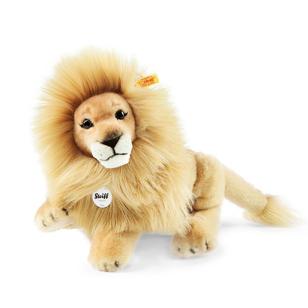 STEIFF德國精品泰迪熊 - Leo Lion 34cm (動物王國)