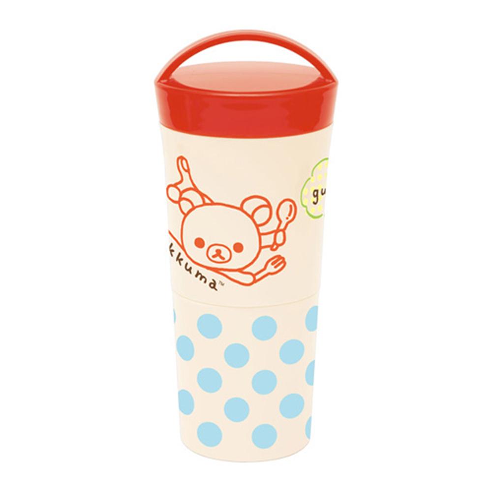 拉拉熊歡樂午餐系列圓筒式便當盒
