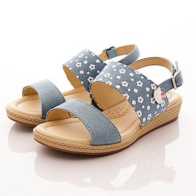 HelloKitty童鞋-小花休閒涼鞋-17950水(中大童段)T1
