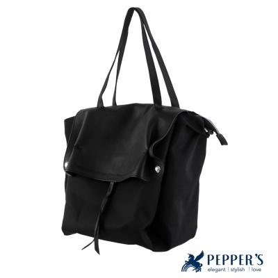 PEPPER`S 天馬包 胡椒個性托特包 - 黑