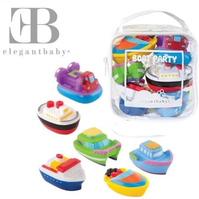 Elegant Baby 洗澡玩具6入組-遊艇派對