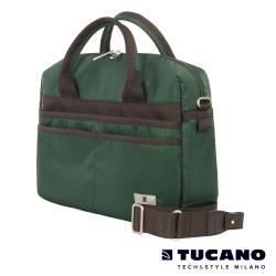TUCANO Shine 13吋多功能手提肩背二用電腦包-綠