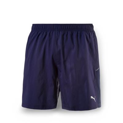 PUMA 男性慢跑系列7吋短褲-重深藍