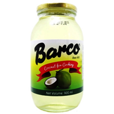 Barco 天然椰子油(900ml)