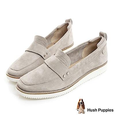 Hush Puppies CHOWCHOW 防潑水輕量休閒鞋-灰色