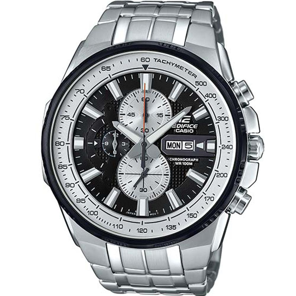 EDIFICE 賽車運動計時腕錶(EFR-549D-1B)-黑/50.3mm