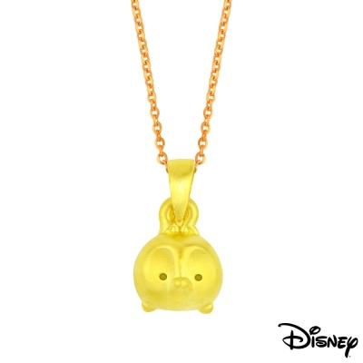 Disney迪士尼金飾 TSUM奇奇黃金墜子 送項鍊