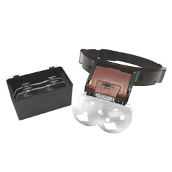 Discovery HG320 LED 100種倍率 頭戴式放大鏡
