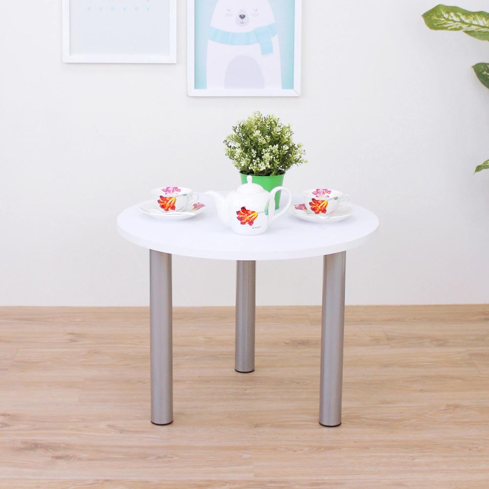 頂堅 [PVC防潮材質]圓形矮腳桌/和室桌/休閒桌-寬60x高45cm-二色